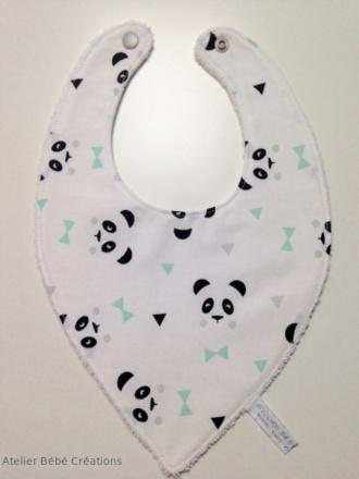 bavoir-panda-vert-1